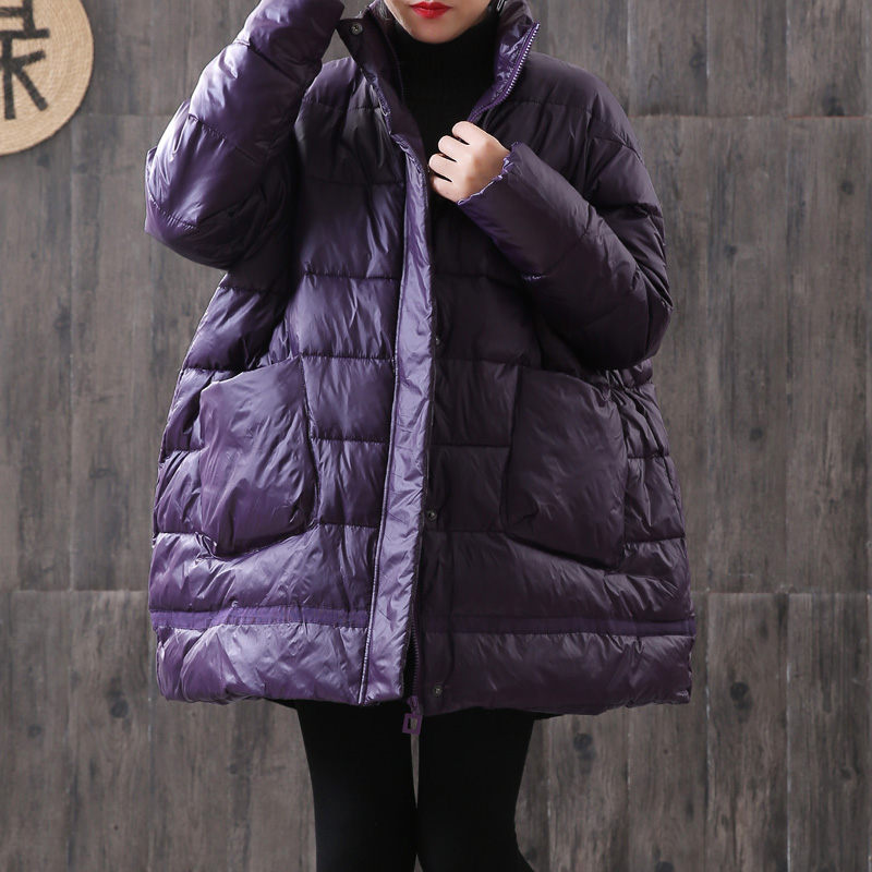 Oversized Korean Glossy Jacket Women Winter Down Cotton Parka Women's Loose Large Size Cloak Type Thick Warm Cotton Coat f2388
