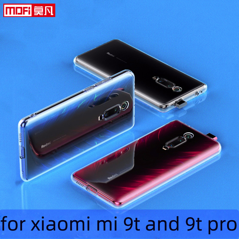 case for xiaomi mi 9t pro case Xiaomi 9t Cover Silicon Ultra Thin Funda Mofi TPU Transparent Back 6.39 Xiaomi Mi9t Pro Case image