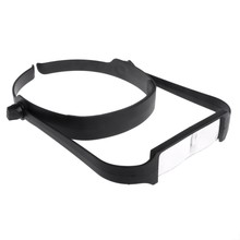 Lupa de lente reemplazable para cabeza, 1,6x 2,0x 2,5x 3,5x