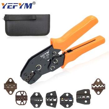 Alicatesde prensado, herramientas SN-48B 7 mandíbula para Tab 2,8 4,8 6,3 Pulg/tubo/terminales de aislamiento Kit bolsa herramientas de abrazadera de reparación eléctrica Mini 1