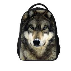 Amazon крутой Повседневный модный школьный рюкзак с животными для школьников начальной школы, для мальчиков и девочек, классный прочный
