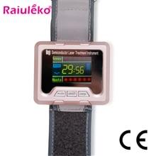 650nm Laser Therapy Watch Home Wrist Diode High Blood Pressu