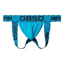 BS Jock Straps Thong Man with logo waistband Man Underwear New Arrivals Breathable Underpants Gay Cotton Bikini Brief