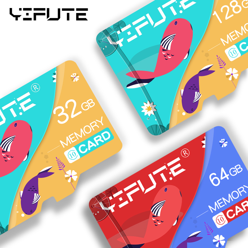 Mini Flash Memory Karte 128 <font><b>GB</b></font> 64GB 32GB 16GB 8 <font><b>GB</b></font> Micro SD <font><b>Microsd</b></font> TF Karte 8 <font><b>16</b></font> 32 64 128 <font><b>GB</b></font> Cartao de Memoria Adapte image