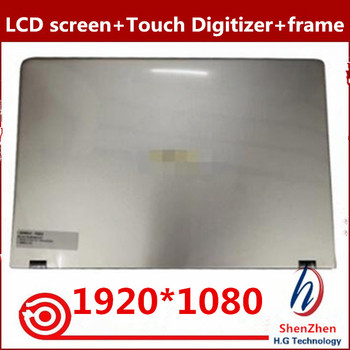 Original 15.6'' full Assembly replacement For ASUS UX561 UX561UA N156HCE-EN1 FHD LCD Touch Screen with cover 1920x1080