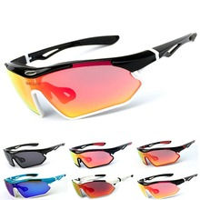 Cycling Sunglasses  Sport Ultraviolet-proof Polarized Outdoor Sports Bicycle Glasses Men Women Goggles Eyewear E