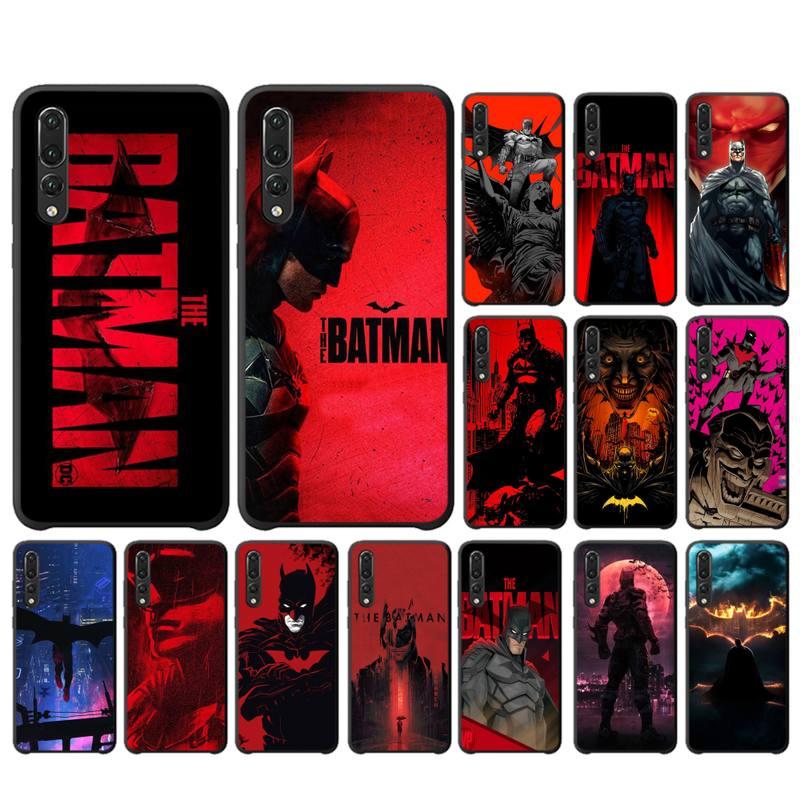 FHNBLJ Superhero Batman logo nowość etui na telefony dla huawei P 8 9 10 20 30 40 pro lite P9 lite 2019
