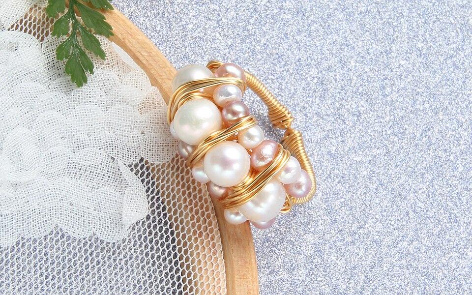 Pearl rings (9)