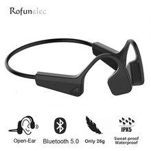 Beengeleiding Hoofdtelefoon Draadloze Bluetooth Headset Koptelefoon Waterdichte Dual Stereo Speaker Met Microfoon Voor Sport Run