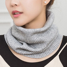 Winter Women Korean Men And Women Universal Cashmere Scarf Thickened Warm Knit Neck Cover Autumn And Winter Neck Cover