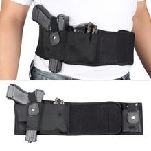 Tactical Belly Band Holster Neoprene Gun Waist Concealed Carry Pistol Holsters Pouch for Glock Beretta Revolver Handgun