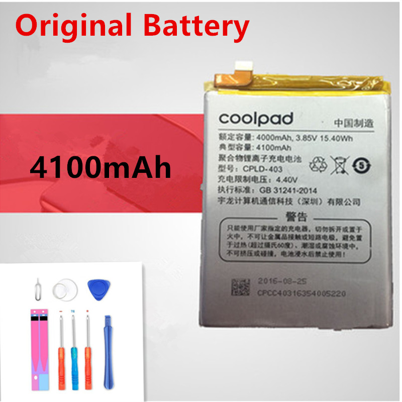 Original CPLD-403 Battery For Letv LeEco Coolpad Cool1 Cool 1 Dual le3 LeRee R116 C106 C106-7 C106-9 C106-6 C107-9 Batteries image