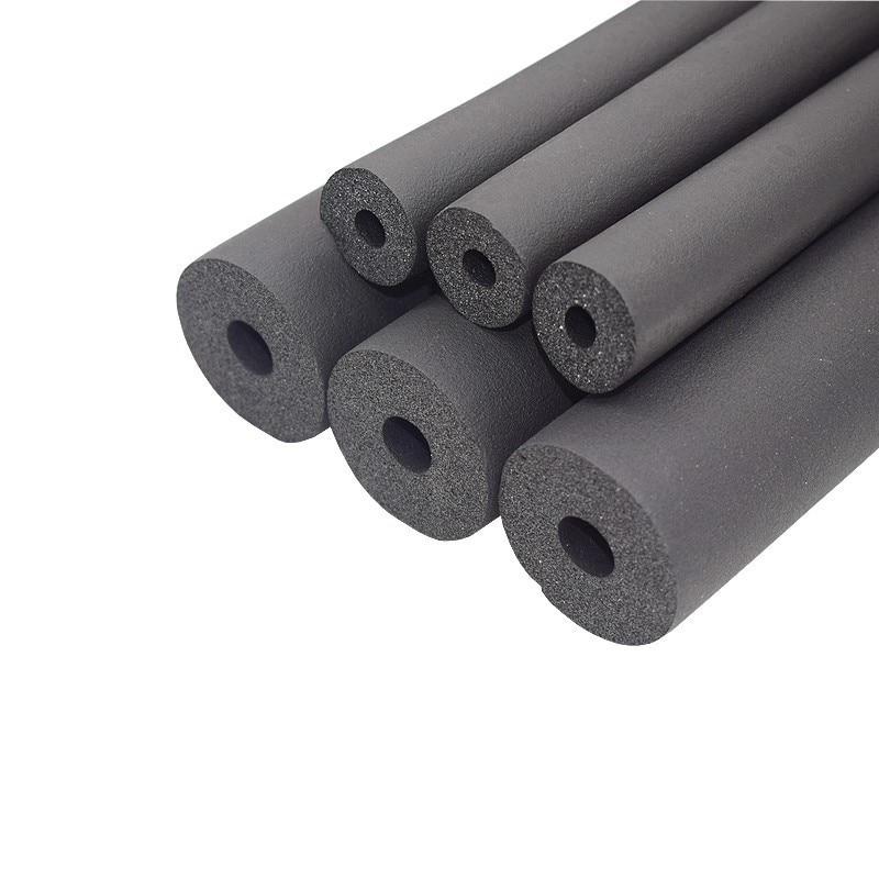 6 мм-32 мм черный ppr губка Изоляция для труб водонепроницаемый трубопровода держатель Термальность трубчатый защитный рукав установка для ко...