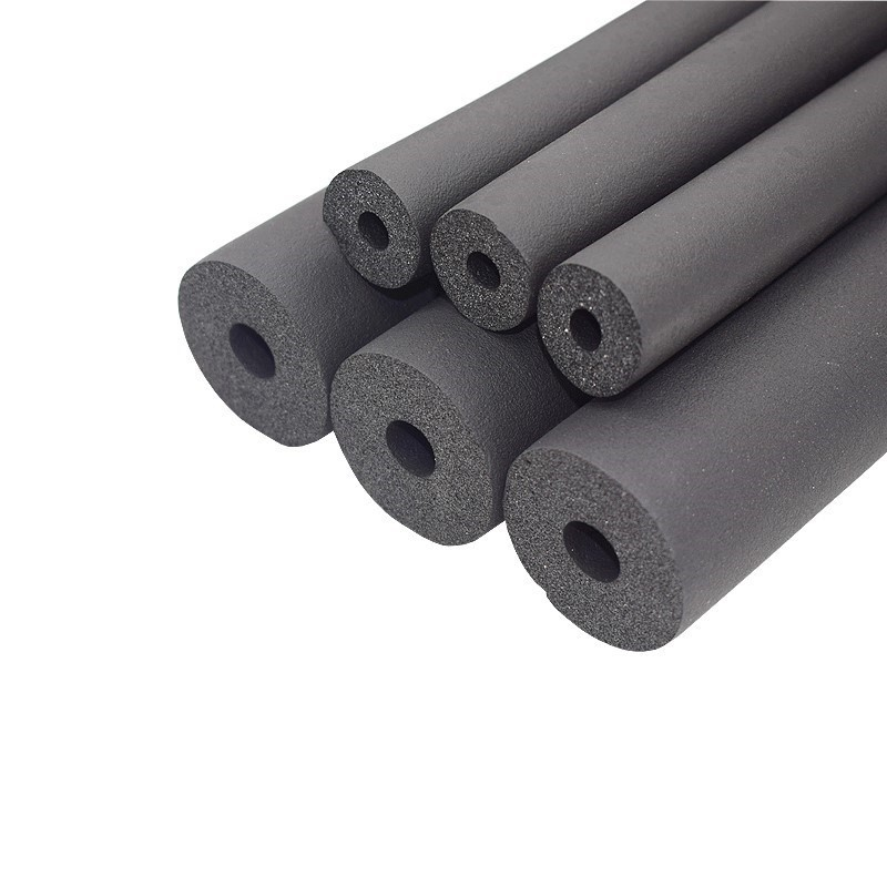 6mm-32mm preto ppr esponja tubo de isolamento à prova dwaterproof água pipeline titular manga protetora tubular térmica ar condicionado encaixe