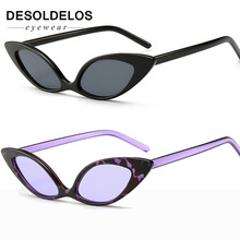 2019 Trendy Cat Eye Sunglasses Women Brand Designer Vintage Small Sun Glasses 90s Fashion Eyeglasses Shades Goggles UV400 zk30 safety goggles uv400 glasses cat eye sunglasses summer style sun glasses outdoor sport eyeglasses