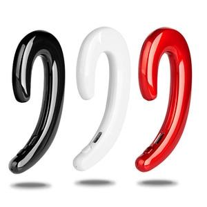 Image 1 - Neue Ultraleicht Knochen Leitung Bluetooth 4,1 Kopfhörer Schmerzlos Tragen Ohr Schoten Ports Gaming Headset für Iphone Android Samsung
