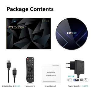 Image 5 - Android 9.0 Smart TV BOX HK1 X3 Amlogic S905X3 4GB RAM 128GB 2.4G/5G Dual Wifi BT4.0 1000M LAN USB 3.0 H.265 8K TV Set Top Box