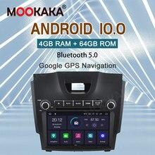 Lecteur multimédia autoradio PX6 Android 10.0 2 din pour Chevrolet/Chevy/Holden/S10/TRAILBLAZER/ISUZU D-MAX S10 GPS Navi