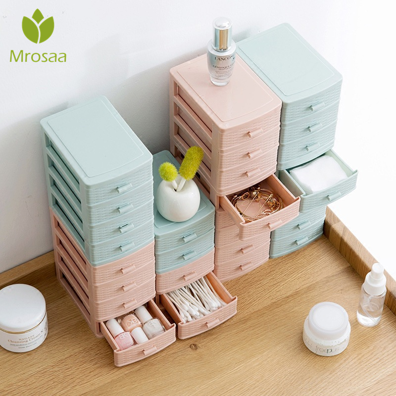 Case Cosmetic-Holder Drawer Office Container Storage-Box Makeup-Organizer Desktop Stationery