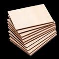 30 stück Holz Blatt Rechteck Holz Zeichen Plaque Handwerk DIY Holz Blätter DIY Holz Haus Modell für Kinder Spielzeug Handwerk