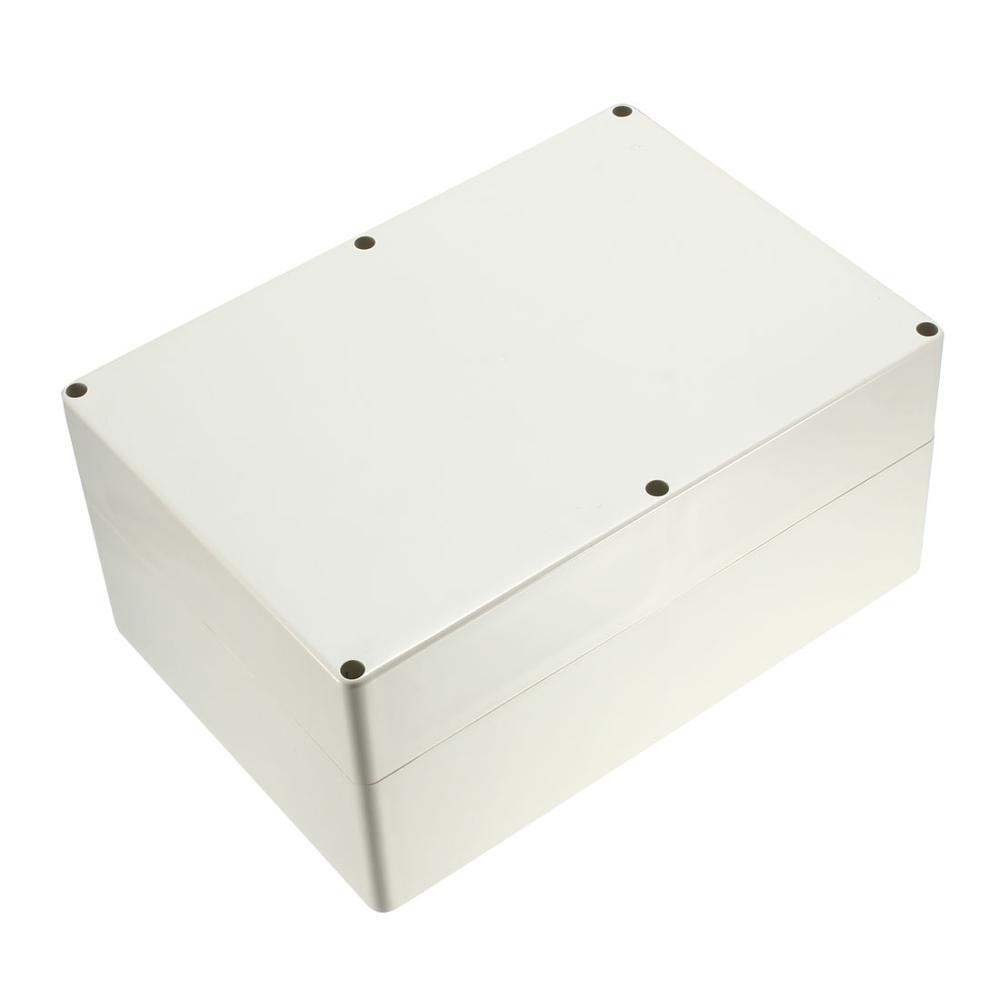 Uxcell 1pcs 263x185x60mm 320x240x110mm Electronic Waterproof IP65 Sealed ABS Plastic DIY Junction Box Enclosure Case Gray