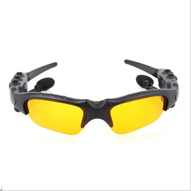 Cycling Glasses Bluetooth 4-Lenses Outdoor-Sport MP3 Phone Men