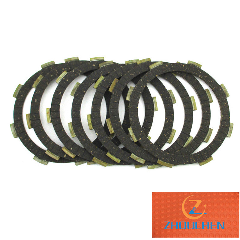 <font><b>Engine</b></font> Clutch Friction Plates For YX ZS <font><b>Lifan</b></font> 150cc <font><b>160cc</b></font> 200cc 250cc <font><b>Engine</b></font> Pit Dirt Bike Motorcycle Motocross image
