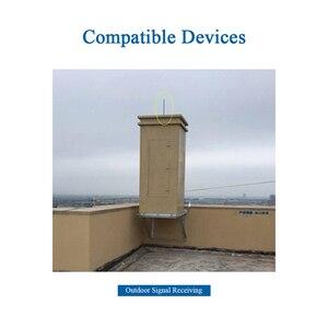 Image 4 - 3G 4G LTE dış mekan omni anten N Dişi Su Geçirmez Sinyal Güçlendirici Baz Istasyonu Fiberglas Çok Yönlü Anten Z161 G4GNK35