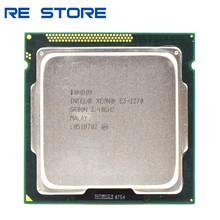 Gebruikt Intel Xeon E3 1270 3.4Ghz Lga 1155 8Mb Quad Core Cpu Processor SR00N