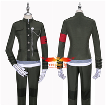 Cosplay Costume Uniform Anime Danganronpa Korekiyo Shinguji Gloves-Mask Pants Jacket