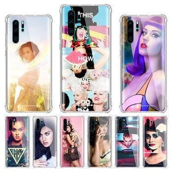 Katy Perry Sweet Girl Case for Huawei P40 Lite E P20 P30 Pro P Smart Z Plus 2019 Airbag Anti-Fall Luxury Phone Capa Sac