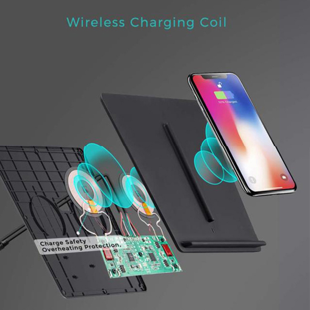 Dual USB Port Car Wireless Fast Charging Phone Charger For Tesla MODEL3 USB Port Works Separately