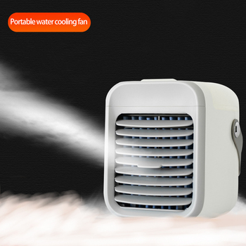 Home Mini Air Conditioner Portable Air Cooler USB fan Personal Space Cooler Fan Air Cooling Fan office Rechargeable Fan Desk air cooler arctic air personal space cooler mini fan water cooling space air conditioner fan device home office desk