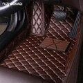 Кожаные автомобильные коврики для Chevrolet Captiva Sonic Sail Spark Aveo Cruze Blazer epica Camaro Equinox Rider Trax foot