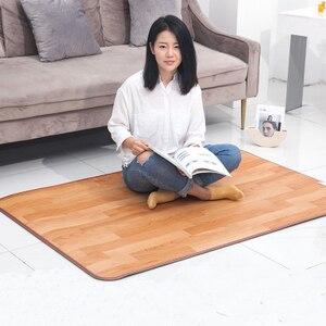 50*55 см грелка для ног Электрический нагревательный коврик для офиса теплые ножки термостат грелка домашний подогреваемый пол ковер электри...