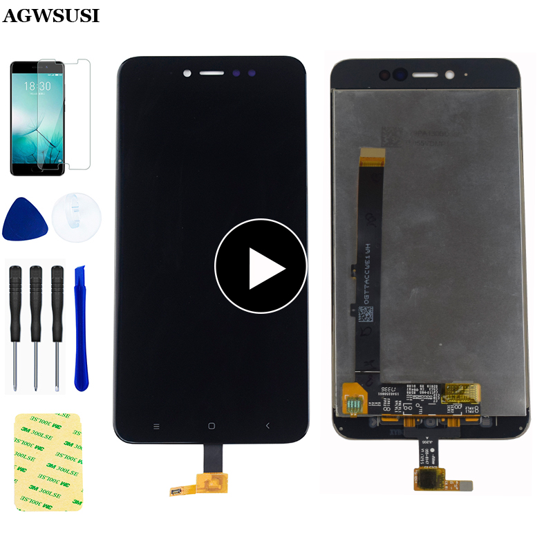 ЖК-дисплей для Xiaomi Redmi Note 5A Prime MDG6S Note 5A MDG6, сенсорный экран 5,5 дюйма, ЖК-экран Y1 / Y1 Lite, дигитайзер в сборе