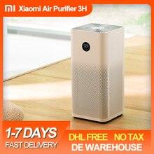 Xiaomi purificateur d'air 3 3H Mi plus propre désodorisant maison Auto détecteur de fumée filtre Hepa MIJIA APP télécommande voiture purificateur d'air