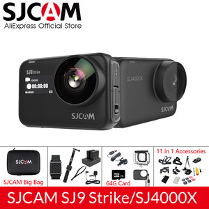 Image 1 - SJCAM SJ9 Series SJ9 Strike SJ4000X GYRO Body Waterproof 4K Action Camera Live Streaming 2.4G Wifi Sports Video Camera
