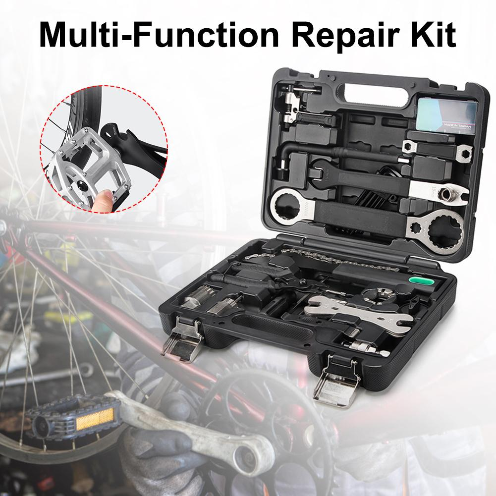 Bicycle Toolbox Set Decoration Car Repair Mountain Bike Tool Kit Riding Equipment Accessories Tool