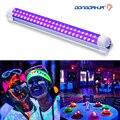 DJ Disco luz 10W etapa luz DJ UV tubo led púrpura para fiesta Navidad Bar lámpara láser escenario pared arandela luz de fondo