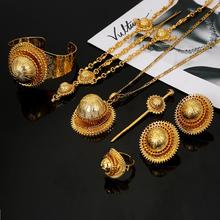 Jewelry-Set Ethiopian Bride Wedding-Eritrea Fashion Habesha Hair-Piece Forehead-Chain