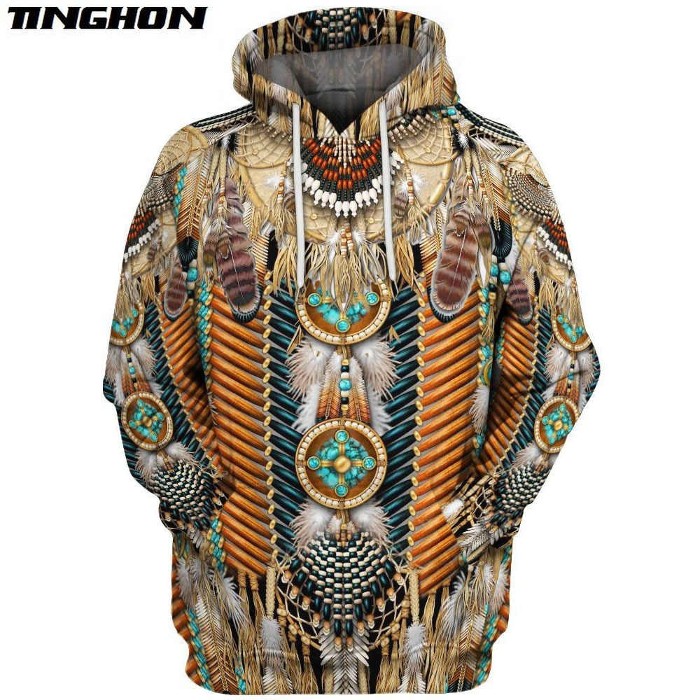 Inheemse Indian Nieuwe Mode Harajuku 3D Volledige Gedrukt Hoodie/Sweater/Jas/Mannen Vrouwen Hiphop Casual Plus Size xs 6XL 7XL 14