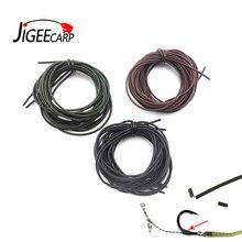 JIGEECARP – accessoires de pêche à la carpe, Tube flottant, manchon en caoutchouc, plate-forme souple, Tube en Silicone pour carpe Ronnie, matériel de pêche grossier, 2m