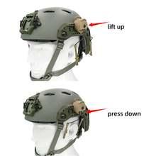 Тактическая гарнитура с креплением на шлем arc track adapter