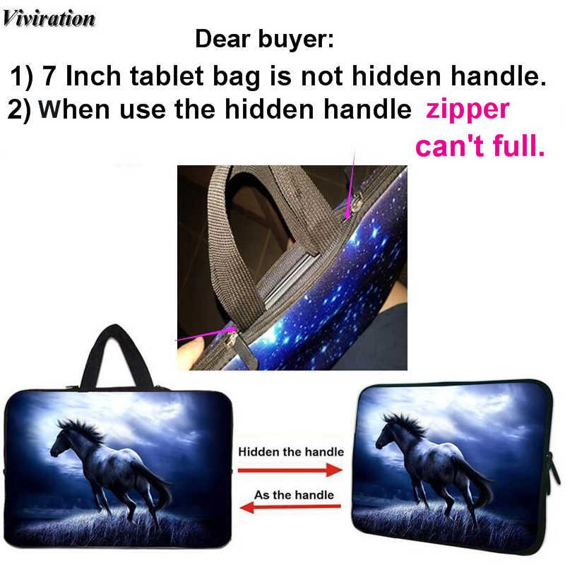 Оптовая продажа мини сумка для планшетного компьютера 7/10/10,1 17,3 11,6 12 13 14 15 17 ноутбука кожного покрова для acer lenovo hp Google Chromebook чехол