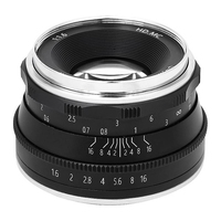 35MM F1.6 Fixed Focus Micro Lens Suitable Manual Prime Lens for SONY NEX Mount Micro Single Camera