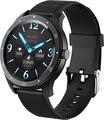 SENBONO S6 كامل اللمس ساعة ذكية IP67 مقاوم للماء الذكور معدل ضربات القلب مقياس ضغط الدم Smartwatch سوار لياقة بدنية