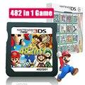 Марио альбом видео карточная игра 482 в 1 картридж Консоли Карты для NDS NDSL 2DS 3DS 3dsll NDSI