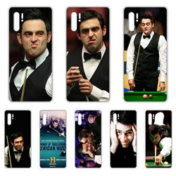 Ronnie O'Sullivan Snooker rakietowy futerał na telefon do HUAWEI nove 5t p 8 9 10 p20 P30 p40 P pro Smart 2017 2019 Z lite