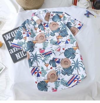 summer New Fashion Mens Brand Short sleeve shirt Hawaiian beach Retro Style floral Printed 3d Shirt Harajuku Casual Tee shirts bob dong men s vintage wdf floral printed summer hawaii shirt short sleeve retro pattern beach casual hawaiian shirts for luau